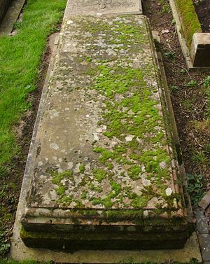 John Lyttelton, 9th Viscount Cobham -  St John the Baptist Church, Hagley, grave of John Lyttelton, 9th Viscount Cobham (1881–1949)