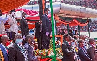 Inauguration of Hakainde Hichilema