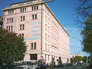 German National Library of Economics - ZBW building, Hamburg