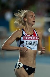 Hannah England British middle-distance runner