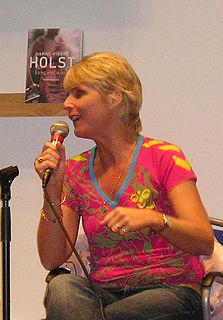 Hanne-Vibeke Holst Danish writer