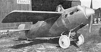 Hanriot HD.22 - Image: Hanriot HD.22 L'Aéronautique October 1921