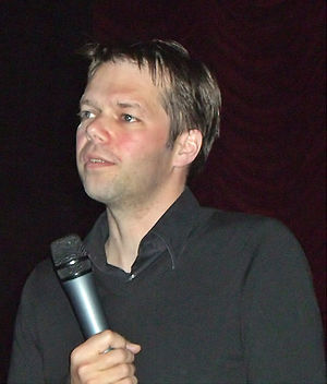 Hans-Christian Schmid - Schmid at the Gartenbaukino in Vienna, 2007