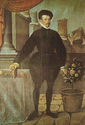 Hans Bock (painter) - Felix Platter, painting from 1584.