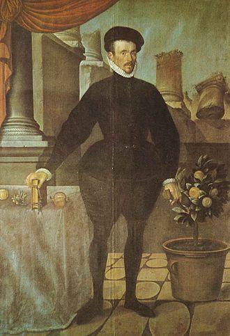 Felix Plater - Felix Plater (1584) by Hans Bock