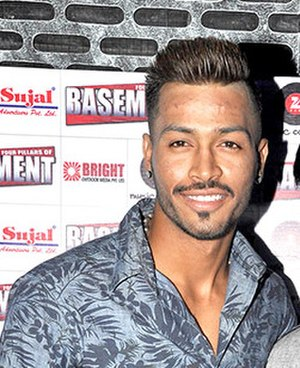 Hardik Pandya - Pandya in August 2015