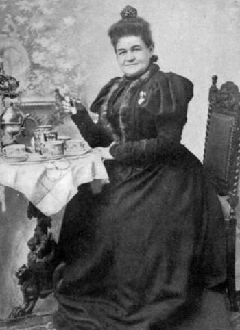 English: Portrait of Mary Virginia Terhune aka...