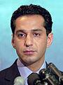 Haron Amin, Spokesman Northern Allience, Afghanistan.jpg