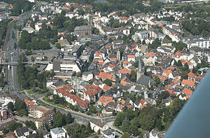 Hattingen - Aerial view