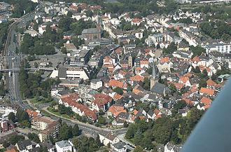 Hattingen - Aerial view