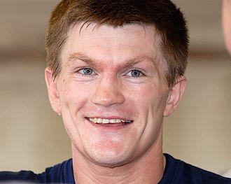 Ricky Hatton - Hatton in 2008