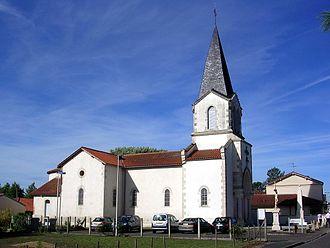 Haut-Mauco - Image: Haut Mauco église