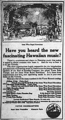 Music Of Hawaii Wikipedia