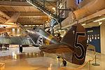 Hawker Hurricane Mk I HC-452 Keski-Suomen ilmailumuseo 04.JPG