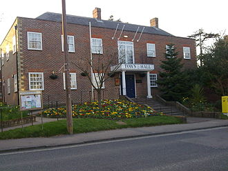 Haywards Heath - Image: Haywards Heath Town Hall