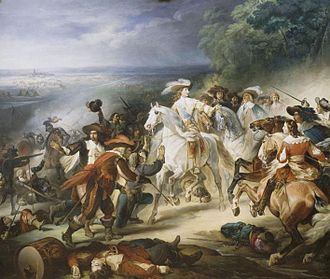 Franco-Spanish War (1635–59) - Image: Heim Battle Rocroy