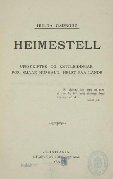 File:Heimestell.djvu