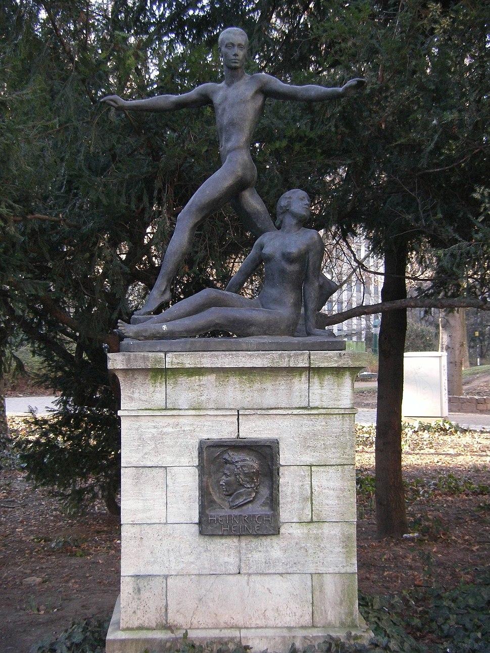Heine-Denkmal Frankfurt