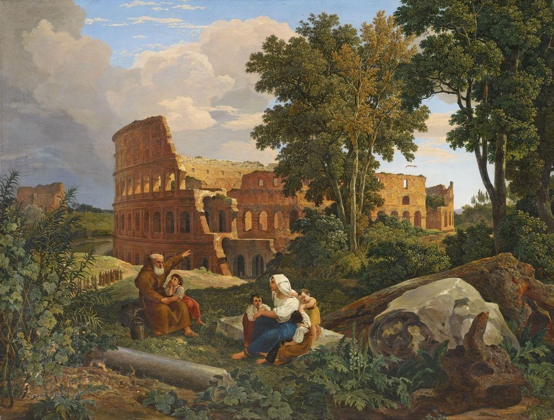 Vue du Colisée à Rome