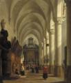 Heinrich Hansen - Interiør fra Sint-Pauluskerk, Antwerpen.png