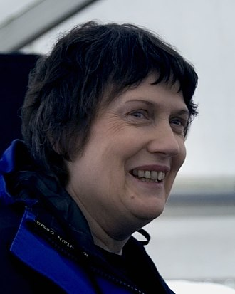 Helen Clark - Clark at the opening of Waikato River Trails at Whakamaru, 2007