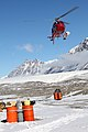 Helicopter Fuel Drop at Lake Fryxell 2009 06.jpg