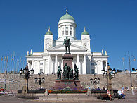 The Helsinki Cathedral is probably the most prominent building and symbol of the city.