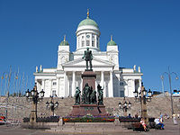 The Helsinki Lutheran Cathedral