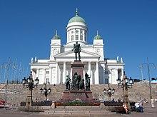 Alexander-II.-Denkmal im Zentrum von Helsinki (Quelle: Wikimedia)