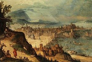 Hendrick van Cleve III - Image: Hendrick van Cleve iii painting 1