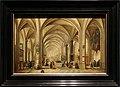 Hendrick van steenwyck il giovane e jan bruegel il vecchio, interno di una chiesa gotica cerso est, 1615.jpg