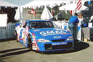 Ricky Hendrick - Hendrick's 2002 Busch Series car.