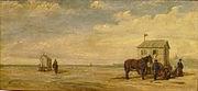 Henri Permeke Badkar op het strand van Oostende 1880 001