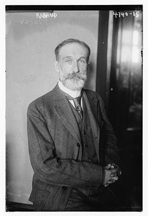 Henri Rabaud - Henri Rabaud in 1918