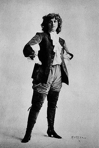 Henrietta Crosman - Crosman as Nell in Mistress Nell (circa 1901)