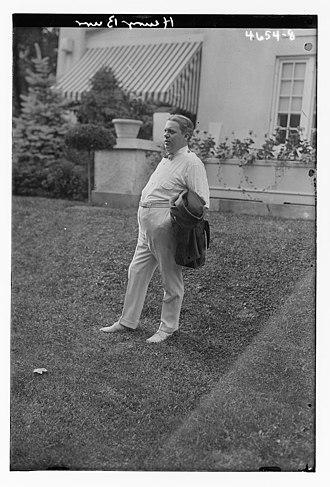 Henry Burr - Image: Henry Burr in 1918