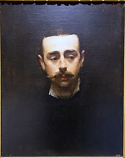 Henry St. John Smith by John Singer Sargent, 1880, oil on canvas - Portland Museum of Art - Portland, Maine - DSC04272