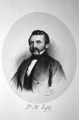 Svitavy - Hermann Zeissl in 1860