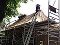 Hernen (Wijchen) Rijksmonument 9311 Dorpsstraat 33, vernieuwing dakstro (1).JPG