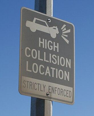 Saskatchewan Highway 14 - Image: High Collision
