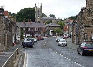 Belford, Northumberland - Image: High Street, Belford