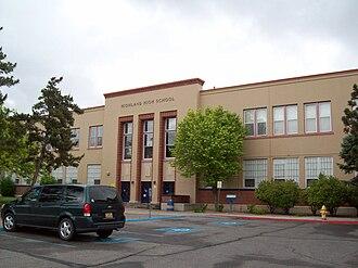 Highland High School (Albuquerque, New Mexico) - Image: Highland High School Albuquerque