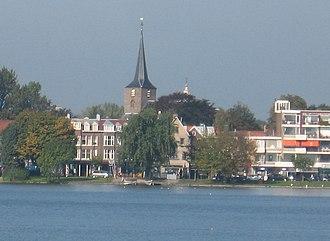 Hillegersberg - Hillegersberg's Hillegondakerk as seen from the Bergse Voorplas