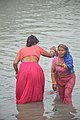 Hindu Devotees Taking Holy Dip In Ganga - Makar Sankranti Observance - Kolkata 2018-01-14 6614.JPG
