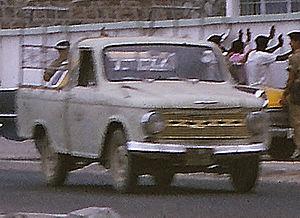 Hino Briska - A Hino Briska in Aden, Yemen in 1966