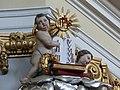 Hoheneich Pfarrkirche - Kanzel 2 Putto 01.jpg