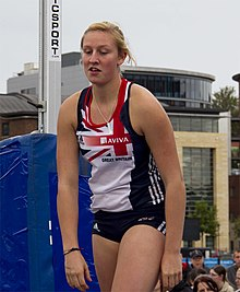 Holly Bleasdale at Great North Games 2011 in Gateshead, UK.jpg