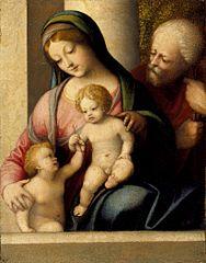 Sainte Famille et saint Jean