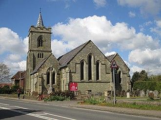 Lower Beeding - Image: Holy Trinity, Lower Beeding
