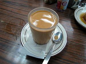 Hong Kong-style milk tea - Image: Hong Kong style Milk Tea